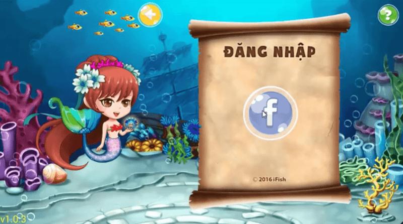 Đăng nhập Ifish bằng Facebook